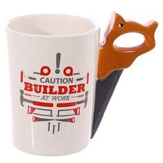 Checkout today with your Novelty Shaped Handle Ceramic Tool Mug - Saw by weeabootique! Ceramic Tools, Saw Tool, Coffee Mugs, Handle, Shapes, Tableware, Ebay, Bricolage, Flower Of Life