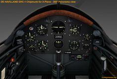 De HAVILLAND DHC-1 Chipmunk - 360° panoramic view