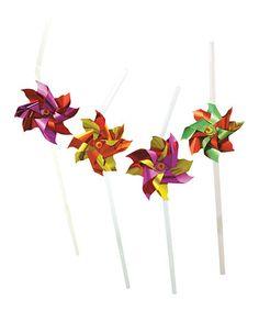 Look at this #zulilyfind! Pinwheel Straw - Set of 48 #zulilyfinds