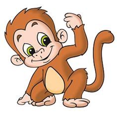free monkey clip art images cute baby monkeys dey all axed for rh pinterest com clip art of monkey eating a banana clipart of monkey face