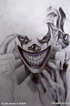 20 Awesome Joker Tattoo Designs