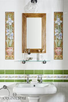 Our five-sets are replicas of the century tile designs originally intended for cast iron fireplaces. They also look beautiful in showers and bathrooms, either with or without the matching decorative borders. Pantone 2017 Colour, Color Of The Year 2017, Cast Iron Fireplace, Tile Manufacturers, Decorative Borders, Toilets, Tile Design, Fireplaces, Greenery