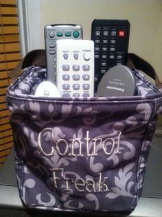 Every thing has a home. The carry all caddy is such a catch-all! Add embroidery to make it your own for just $7!