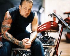 Jesse Gregory James (born April is an American television personality and CEO of West Coast Choppers , a manufacturer of custo. Jesse James, James 3, Kat Von D, Rat Rods, Chevy, Beautiful Men, Beautiful People, Orange County Choppers, Bike Tattoos