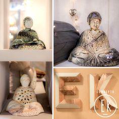 Budas en cerámica