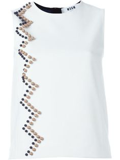 Shop MSGM beaded blouse in Noténom from the world's best independent boutiques at farfetch.com. Shop 400 boutiques at one address.