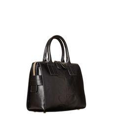 Orla Kiely - Embossed Stem Leather Margot Bag