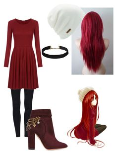 """""""First Date"""" by evestarr on Polyvore featuring Sibling, Aquazzura and Coal"""