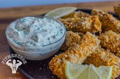 Healthy Crispy Fish Sticks