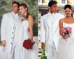 Assessoria do Noivo: Terno Branco para Noivos Ousados