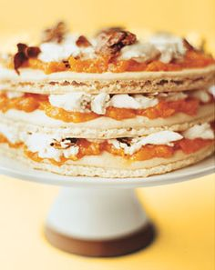 Apricot Almond Layer Cake http://www.epicurious.com/recipes/food/views/Apricot-Almond-Layer-Cake-231811