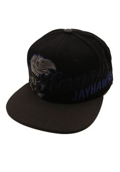 1b1211abfe2 Kansas Jayhawks Tonal Script with Royal Outline Fitted Hat by Zephyr  http   www