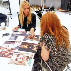 Rachel shares beauty inspiration with makeup guru Charlotte Tilbury and the team from MAC Cosmetics.