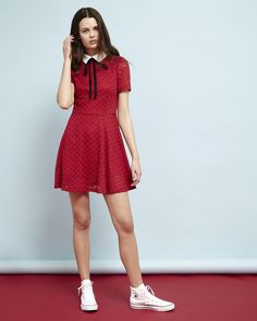 bf4c552c7a3 cherry bomb mini lengths in the Ruby Tuesday Skater Dress from   AUnicornRide Ruby Tuesdays