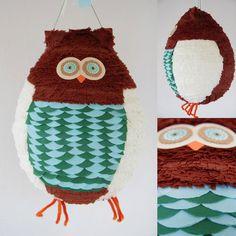 owl pinata by pinatafun on Etsy  http://pinatafun.etsy.com