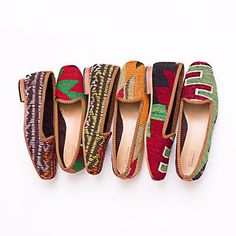 We love these fab shoes made from Moroccan Kelims - last few pairs available at the Chelsea showroom. Also available for worldwide shipping, please DM for details. Ethical Fashion, Slow Fashion, Chelsea London, London Photographer, Shoes Handmade, Fab Shoes, Morocco, Showroom, The Good Place