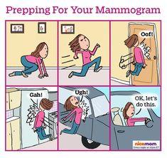 Did you go for your mammogram? Check out our funny cartoon, How to Prep For Your Mammogram, on NickMom.com!