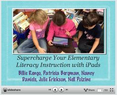 Supercharge Your Elementary Literacy Instruction with iPads