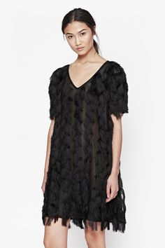 Tassel Valley Dress - New Arrivals - French Connection