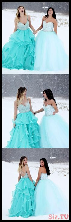 Sparkly Prom Dresses, long prom dresses, 2018 prom dresses, straps v neck beaded blue long prom dresses party dresses ball gown Breeze Bridal Pageant Dresses For Teens, 2 Piece Homecoming Dresses, Prom Dress Stores, Prom Dresses 2018, Prom Party Dresses, Formal Evening Dresses, Party Gowns, Ball Dresses, Ball Gowns