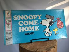 Vintage Snoopy Come Home Complete Board Game by VintageChocolat, $14.00