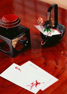 お屠蘇とお年玉 / Otoso (a kind of herb-sake) and otoshidama (a small envelope with a gift money)
