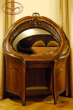 eugene vallin art nouveau desk there weren 39 t many pieces of art nouveau furniture made before. Black Bedroom Furniture Sets. Home Design Ideas