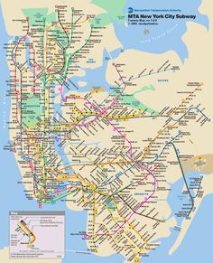 how to read the nyc subway map