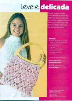 bolso crochet asas madera - Cerca amb Google