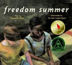 Freedom Summer by Deborah Wiles. Text-to-text connections w/ The Other side, theme, plot. Ya Books, Book Club Books, Book Clubs, Text To Text Connections, Making Connections, Literary Genre, Trade Books, Readers Workshop, Writing Workshop