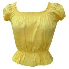Lemon blouse retro