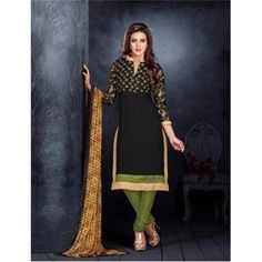 Saiveera Latest arrival Black Cotton Emboidered Unstiched Casual Salwar Suit/Dress Material Saiveera Fashion Is a Best Manufacturer,Exporter,Wholesaler, As well as Best and dealer,Retailar Of Designer,Embroidery Wedding Sari,Kids Lahenga Choli,Salwar Suit,Dress Material,etc.in surat Textile Market. Also Mainly Focus On Style,Choice,Fabric. So Saiveera Fashion Also Made Designer, Cotton,Fancy,Kurtis,Saree,Embroidery,Wedding,Partywear,For More Query Please Call Or Whatsapp- +91-8469103344