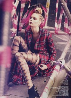 tartan inspiration for Autumn / Winter