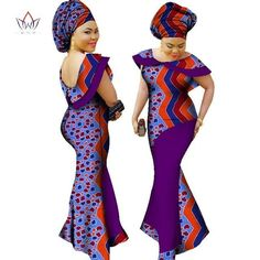 Plus Size winter dresses women 2018 traditional african fashion Clothing Africa Wax Dashiki long cotton maxi dress Plus Size Winter Dresses, African Men Fashion, Womens Fashion, Mix Style, Dashiki, African Attire, Latest Fashion Trends, Wax, Dresses With Sleeves