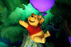 """from the ride, """"The Many Adventures of Winnie the Pooh"""" in Disney World"""