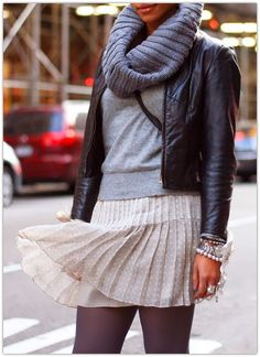 Art Symphony: The Pleated Skirt