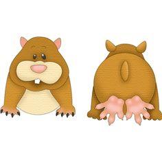 Silhouette Design Store - View Design #12224: pet hamster