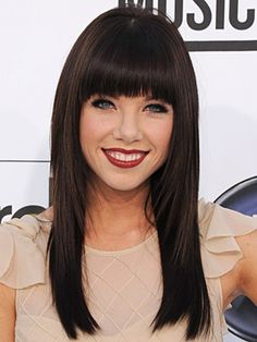 COLOR & STYLE! - Carly Rae Jepsen Hair Color Formula - Base to Midshaft: 4N (2oz)  DXAH (1/2oz)  Mix with: 20 vol activator  Midshaft/Ends: 4N (1/2oz)  4GD (1/2oz)  Mix with: 10 vol activator  Low-light: 1N small slices around top, painted on underside (occipital/nape area)  Mix with: 10 vol developer