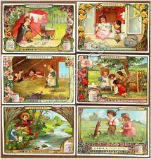 Figurine Liebig - Germania - Sang. 773 - Scene di fanciulli 8° - 1904