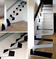 Stairsribbon1 20 hermosas y modernas escaleras