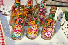 Matrioshka candy