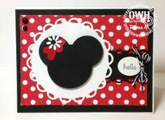 Minnie ears Card
