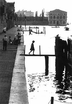 Willy Ronis's photo of Fondamenta Nove.