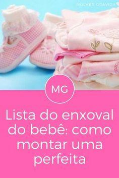 Lista do enxoval do bebê | Lista do enxoval do bebê: como montar uma perfeita | Já montou a sua?