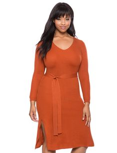 782652c8eeb 15 Cozy And Chic Plus Size Sweater Dresses To Wear Now