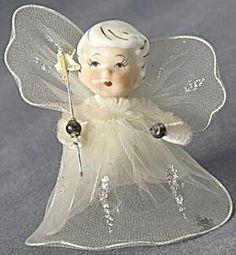 Vintage Christmas angel / fairy