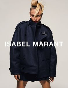 Natasha Poly by Inez van Lamsweerde Vinoodh Matadin for Isabel Marant Fall Winter 2015-2016 1