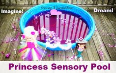 Growing A Jeweled Rose: Sensory Play. I am so doing this with my Princess Giana & Princess Gemma this summer!