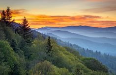 25 Stunning National Park Vistas | Fodors ... Great Smoky Mountains National Park, Tennessee/North Carolina, photo courtesy Dave Allen Photography/Shutterstock