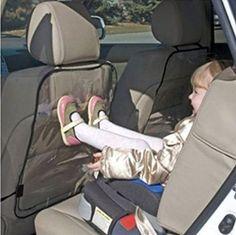 Voberry® Enfants – Chiens Auto Housse de Siège Arrière Protecteur Kick Mat Anti poussières 57cm x 42 cm